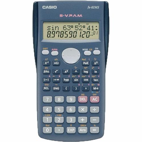 paquete de 10 calculadoras casio fx 82ms
