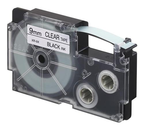 paquete de 10 cintas para rotulador casio xr-9x1 9mm x 8m
