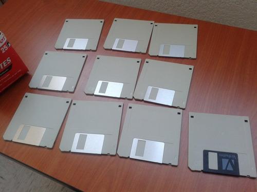 paquete de 10 diskettes