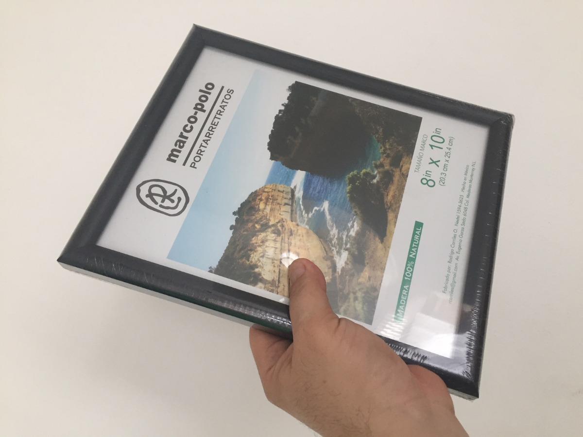 Paquete De 10 Marcos De Madera 8x10 - $ 490.00 en Mercado Libre