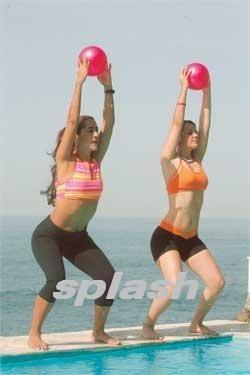 paquete de 10 pelotas de gel de 1 kg cu, aerobics, fitness y