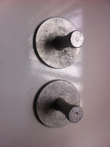 paquete de 10 placas de aluminio para topografia