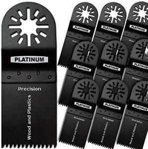 paquete de 10 precision japón diente oscilante multitool 1 3