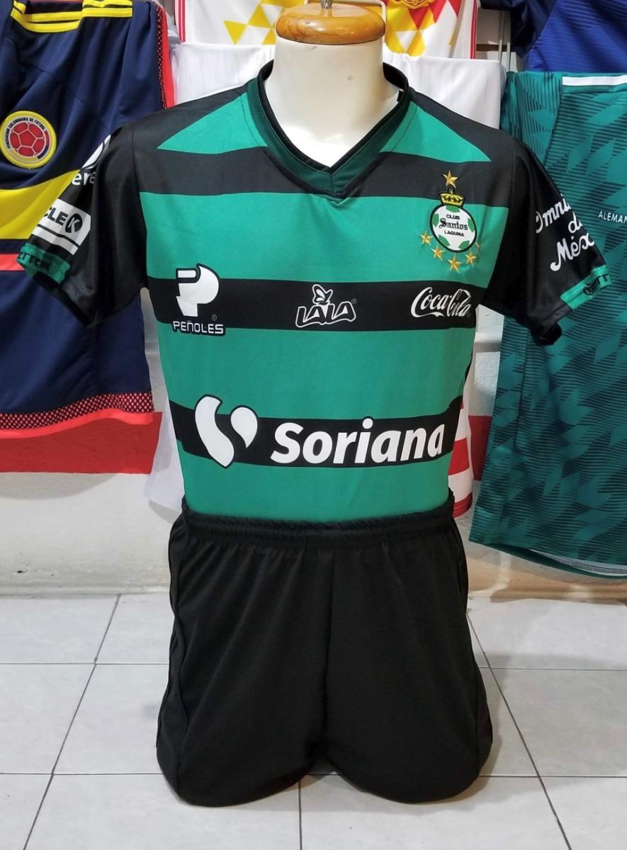 Paquete De 10 Uniformes De Futbol Santos Visita 2019 -   3 fb757d9accf13