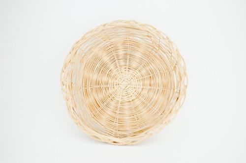 paquete de 100 piezas porta plato de bambu 10 pulgad. 302375