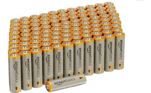 paquete de 100 pilas aa baterías de 1.5v envío gratis!!!