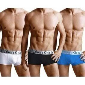 paquete de 12 boxers calvin ck hombre original calzones