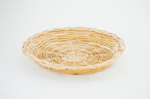 paquete de 12 piezas porta plato de bambu 8 pulgadas 302368