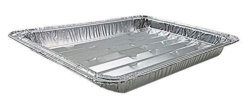 paquete de 15 sartenes de pollos de engorde de aluminio des