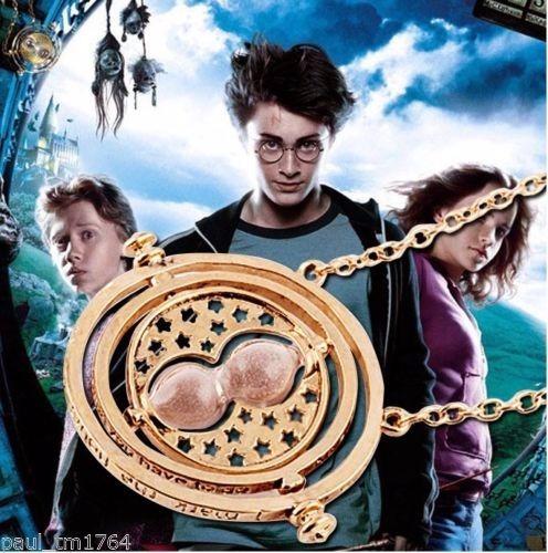 paquete de 2 collar harry potter hermione gira tiempo