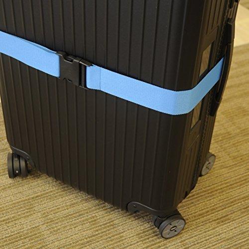 paquete de 2 correas de equipaje conjunto de correas de male