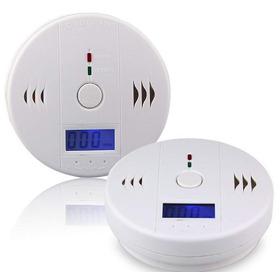 Paquete De 2 Detectores De Monóxido De Carbono Con Detector