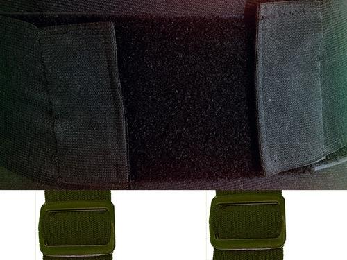 paquete de 2 fajas lumbar industrial hs  con envío