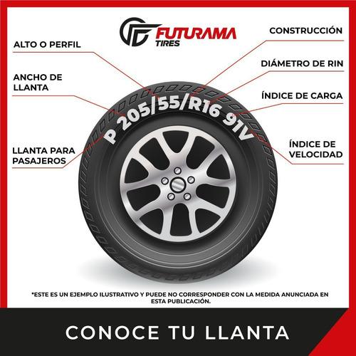 paquete de 2 llantas 225/40 r19 pirelli p7 all season runflat 93h msi