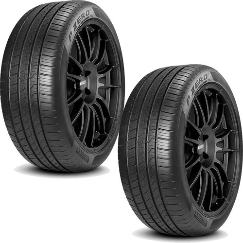 paquete de 2 llantas 235/45 r18 pirelli  pzero all season pl