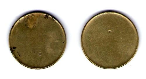 paquete de 2 monedas mexicanas con error sin troquelar