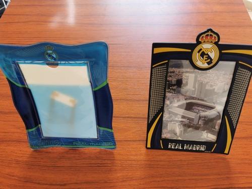 paquete de 2 portaretratos para fotos real madrid