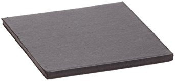 paquete de 24 cuadrados imán flexible con adhesivo 1/16  gru