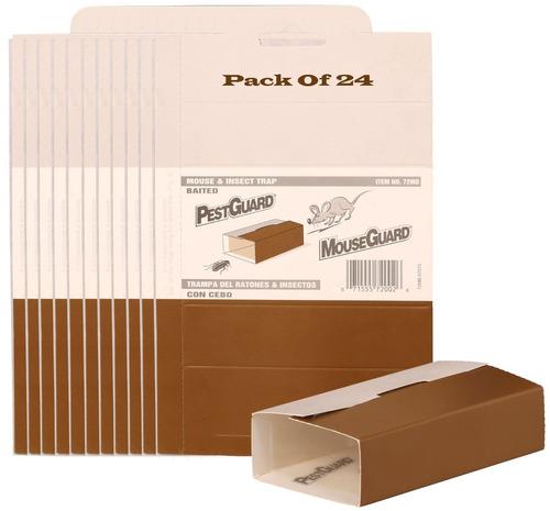 paquete de 24 ratones / ratones / insectos / lagarto / se