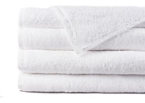 paquete de 25 toallas faciales blancas económicas delgadas