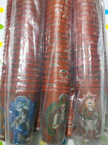 paquete de 25 vasos de victoria de plástico 1lt