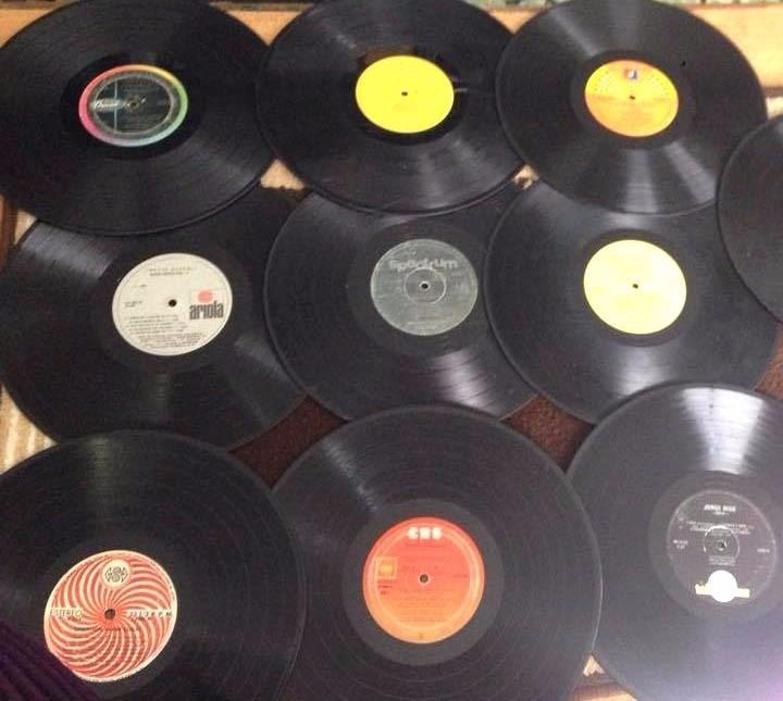Paquete de 3 discos de vinilo para decoraci n y - Decoracion con discos de vinilo ...