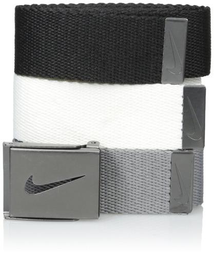 paquete de 3 en 1 web de nike para hombre, negro-blanco-gris