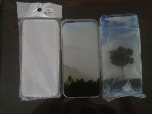paquete de 3 fundas para iphone 6