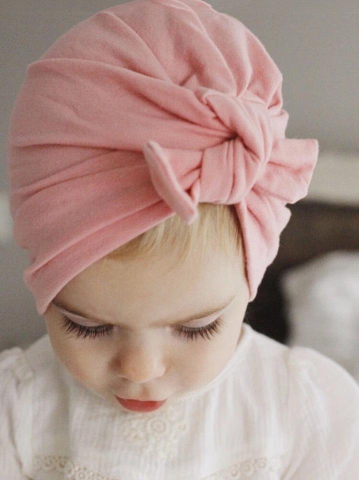modelos de gran variedad amplia selección de diseños precio bajo Paquete De 3 Gorros Turbante Para Bebe Niña