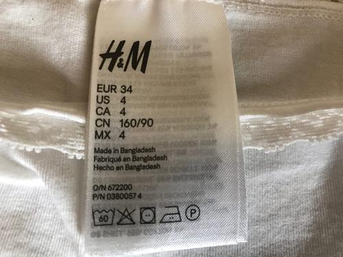paquete de 3 panties marca h&m talla 4 nuevos, no etiqueta