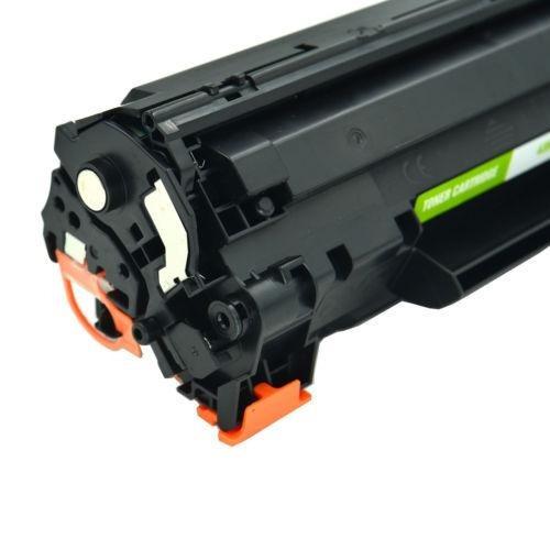 paquete de 4 cartucho de toner negro para hp cb435a 35a-3042