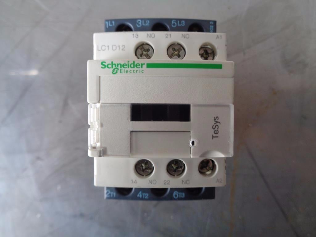 Paquete De 4 Contactores Telemecanique Lc1d12