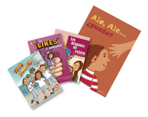 paquete de 4 libros colección grandes protectores