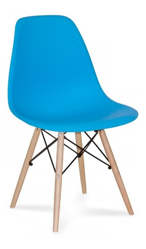 paquete de 4 sillas eames de colores- promoción!