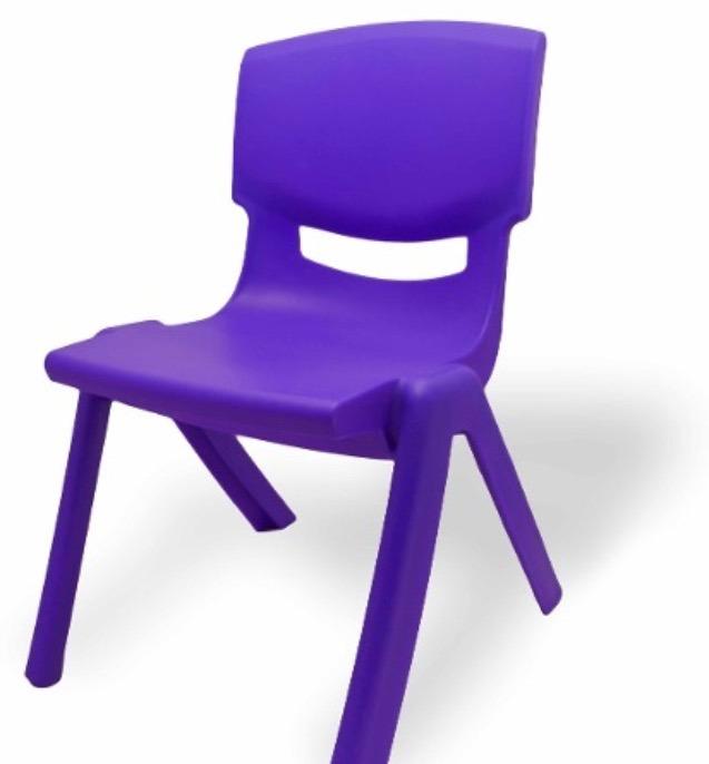 Paquete de 4 sillas preescolar reforzadas env o gratis for Sillas para ninos de preescolar