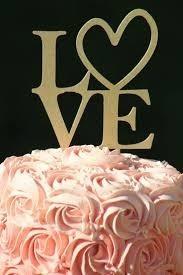 Paquete De 5 Cake Toppers Para Decoración Pastel Madera
