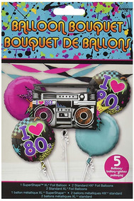 Paquete De Los 80s Decoración Para Fiestas En Mercado
