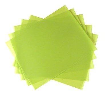 paquete de 5 hojas 1 micra 14000 grit psa lapping pelicula d