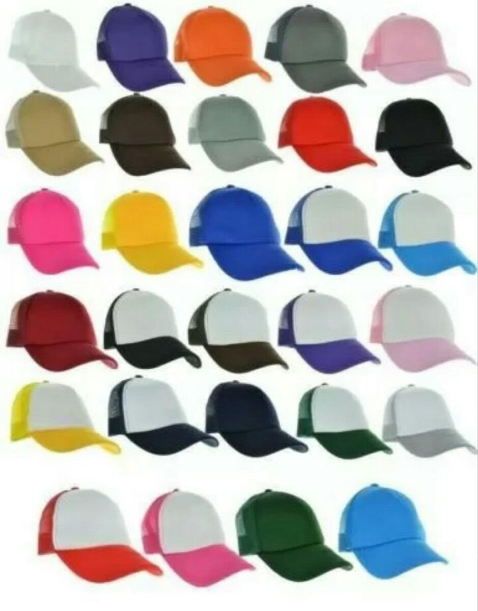 paquete de 50 gorras malla esponja 35 colores + envío gratis. Cargando zoom. 4317bb66360
