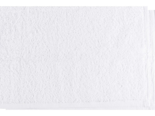 paquete de 50 toallas faciales delgadas blancas 30 x 30 cm