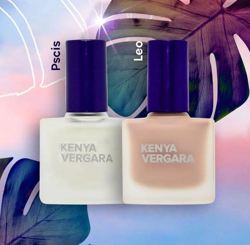 paquete de 6 esmaltes para uñas kenya vergara