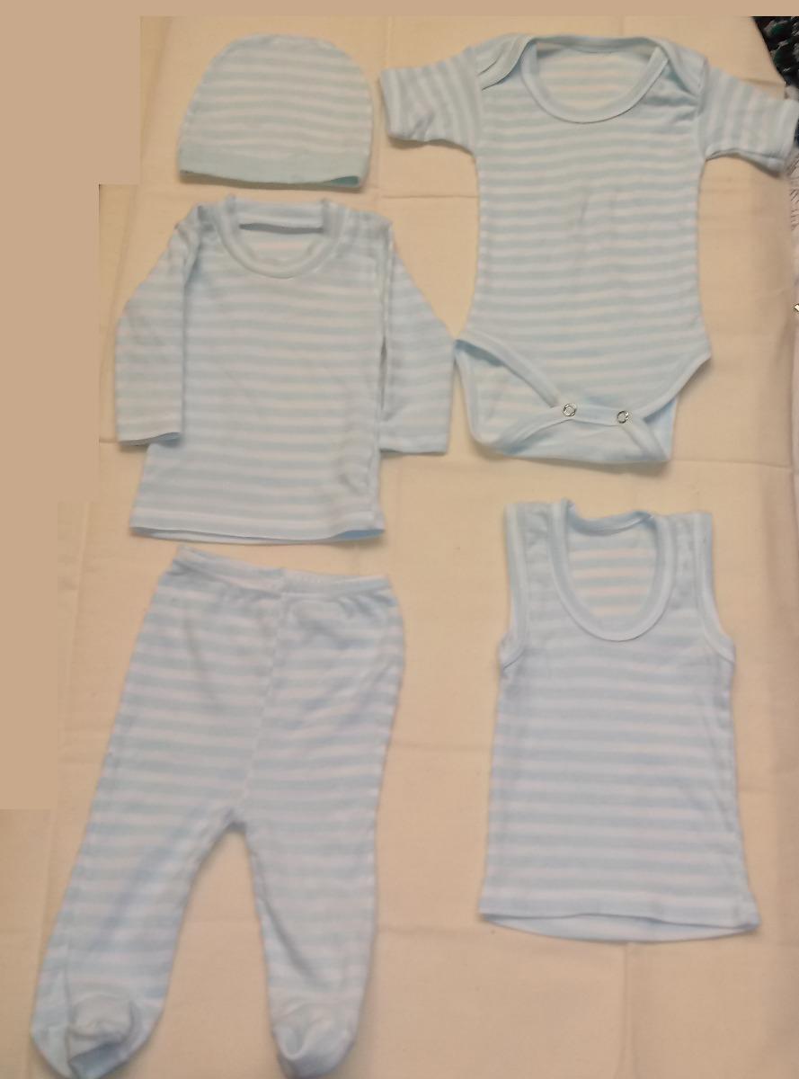 16cd6c67a Paquete De 6 Piezas De Ropa Para Bebé Recién Nacido - $ 80.00 en ...