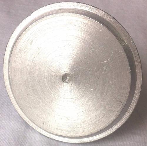 paquete de 6 placas de aluminio para topografia