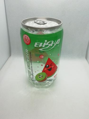 paquete de 6 refrescos coreanos sabor kiwi sandía