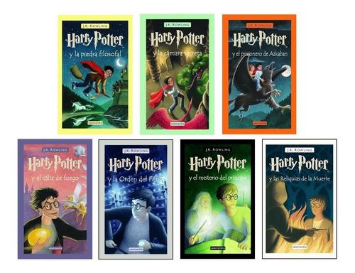 paquete de 7 libros