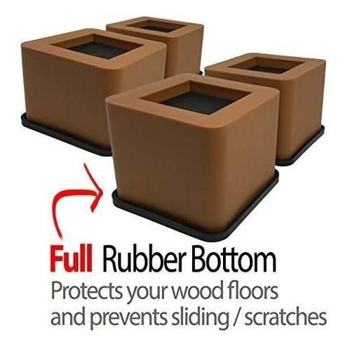 paquete de 8 cama marrón. escritorio, sofá, elevación de