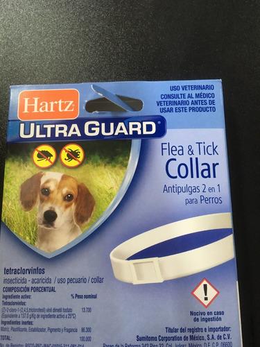paquete de 8 collares antipulgas surtidos p/perro o gato