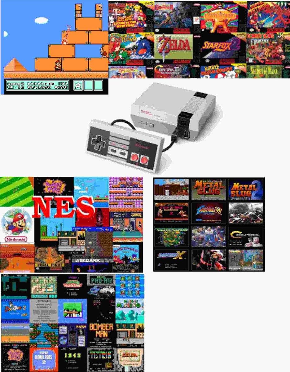Paquete De 903 Juegos Nintendo Nes Para Tu Pc Y Android 19 99 En