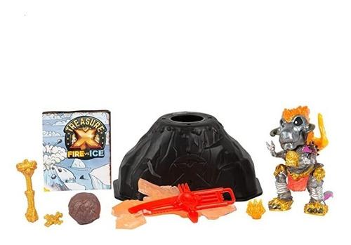 paquete de bestias místicas treasure x, fuego vs hielo
