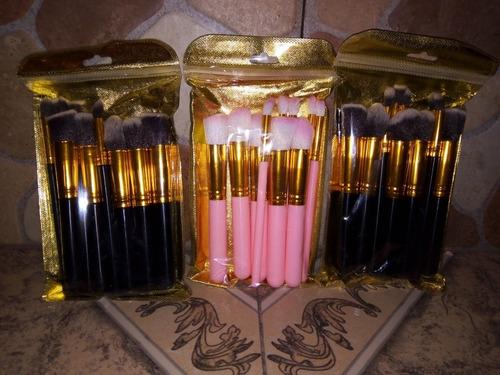paquete de brochas maquillaje
